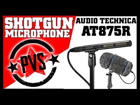 Audio Technica AT875R Shotgun Microphone