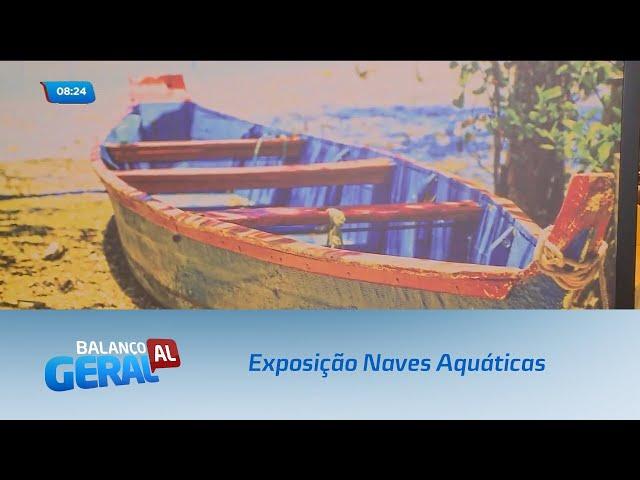 Exposição Naves Aquáticas foi aberta à visitação em shopping de Maceió
