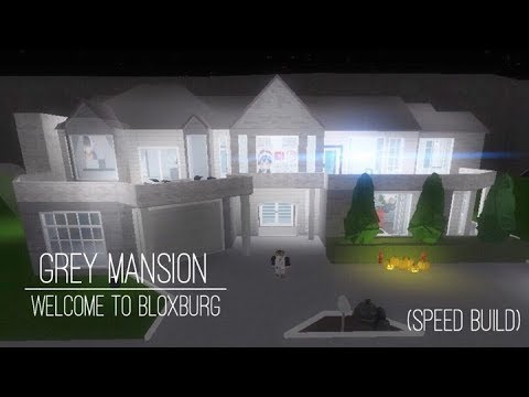Roblox bloxburg modern mansion doovi for Modern house design bloxburg