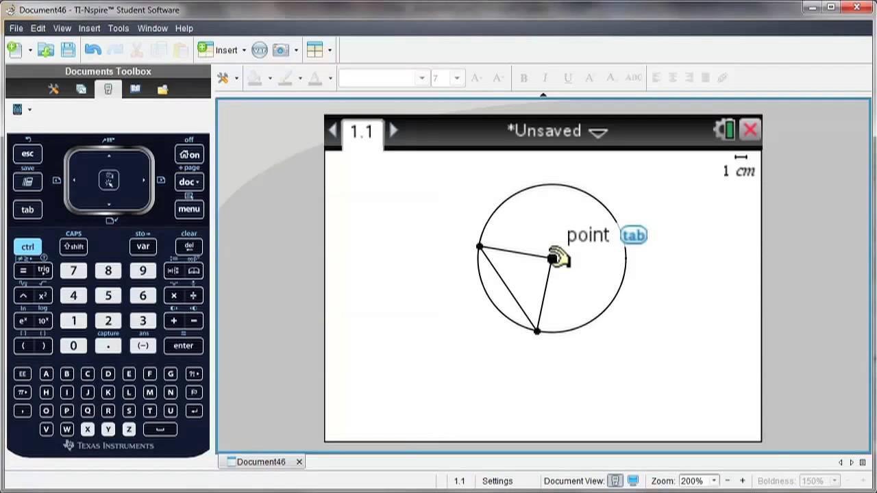 Utforska geometri med TI-Nspire ™ CX