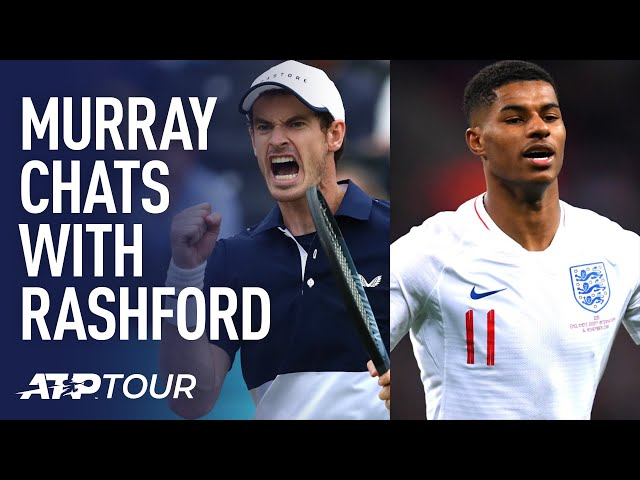 In Conversation: Andy Murray & Marcus Rashford (Full Chat)