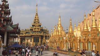 Shwedagon Pagoda, Myanmar in 4K (Ultra HD)