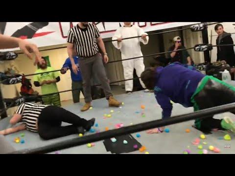 Easter Egg Hunt Match! GTS Wrestling Holiday Event