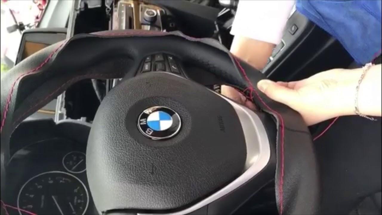 Обтянуть руль кожей своими руками