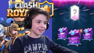 3X FORTUNE CHEST OPENING - Clash Royale