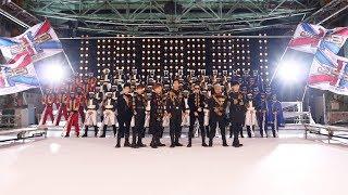 4月13日・三代目ツアー開幕日に公開された「RAISE THE FLAG」MVの撮影現...