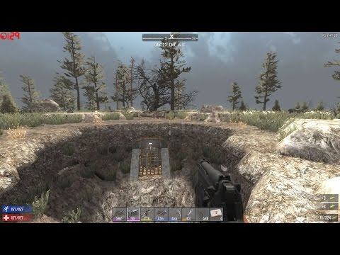 7 Days To Die: S04-E64 - Alpha 14 - Good And Bad Mining Techniques - 06-26-16