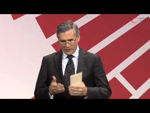 """Rich Hume (IBM) at the """"digitising europe"""" summit in Berlin"""