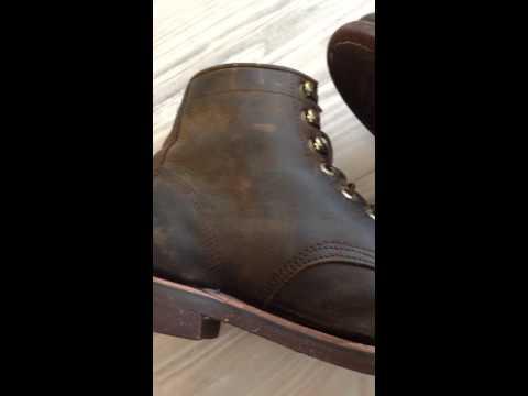 Chippewa for LL Bean boots.