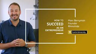 How to succeed as an entrepreneur | Rhinohide founder Marc Berryman