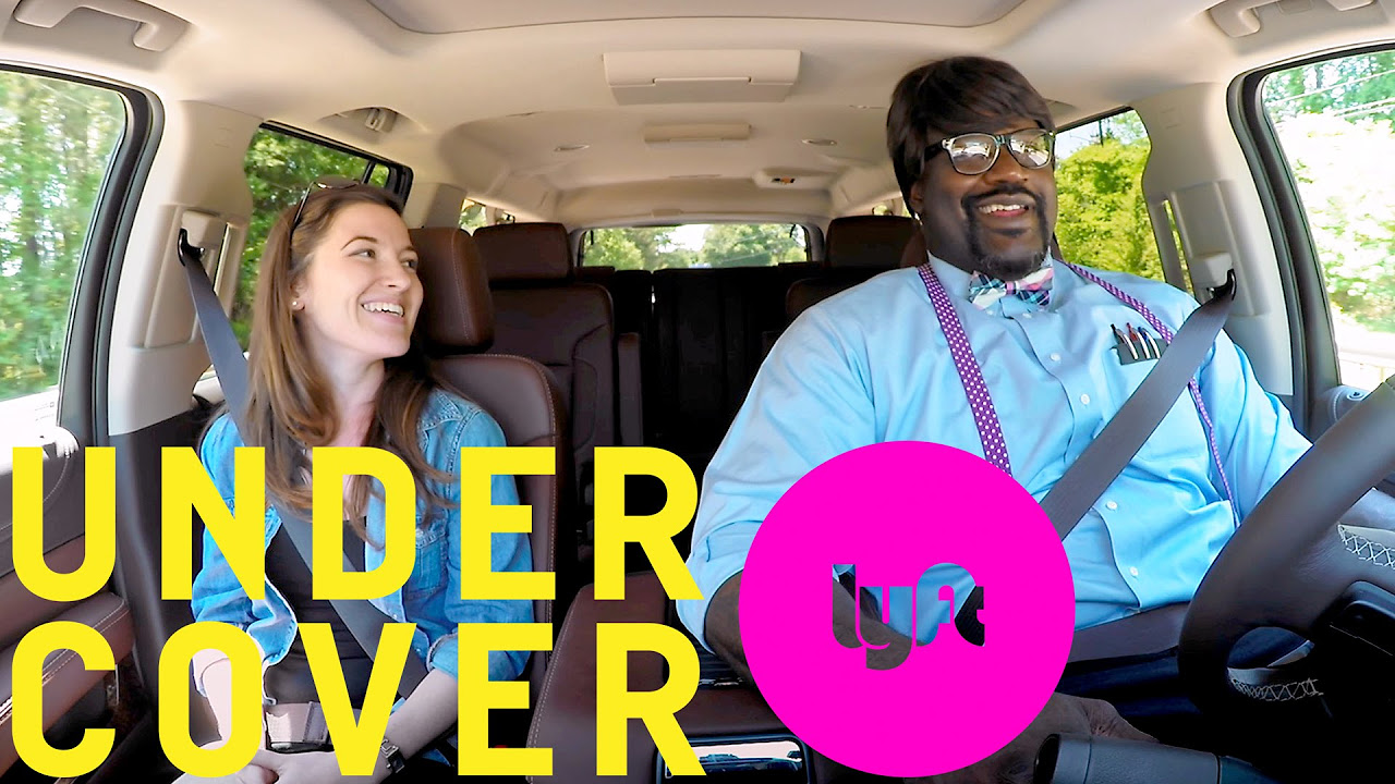 Undercover Lyft with Shaquille ONeal