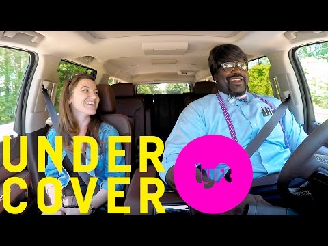 Undercover Lyft with Shaquille O'Neal