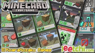 MINECARD - Planches d'impression!