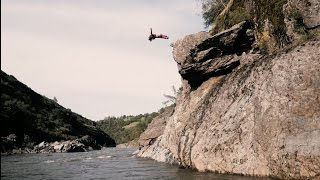 Cliff Jumping, River Surfing, White Water Rafting and More! | (Crashed My Drone) 4K