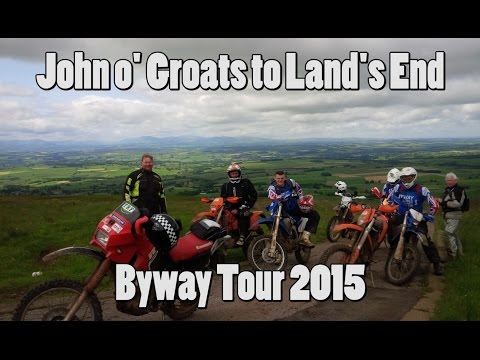 John o' Groats to Land's End - A Motorcycle Photo Film