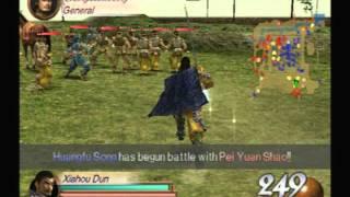 Dynasty Warriors 3 Xiahou Dun Yellow Turban Rebellion
