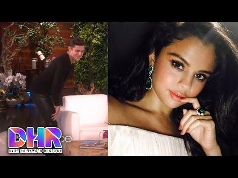 Zac Efron Twerks In Tight Pants - Selena Gomez's SEXY BTS Hand To Myself Video (DHR) - 동영상