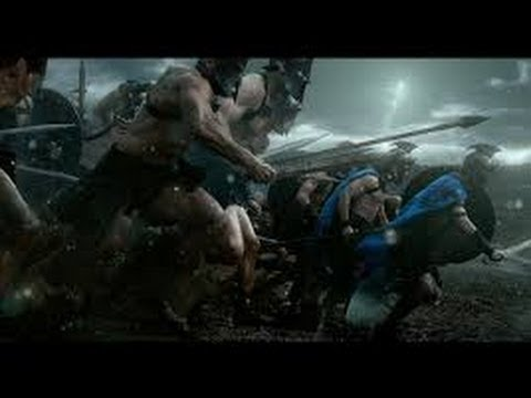 300 Rise of an Empire Themistocles Battle  first fight