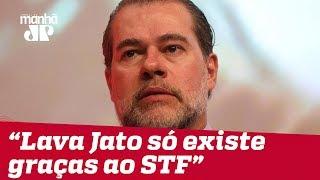 """""""Lava Jato só existe graças ao STF"""", diz Toffoli"""