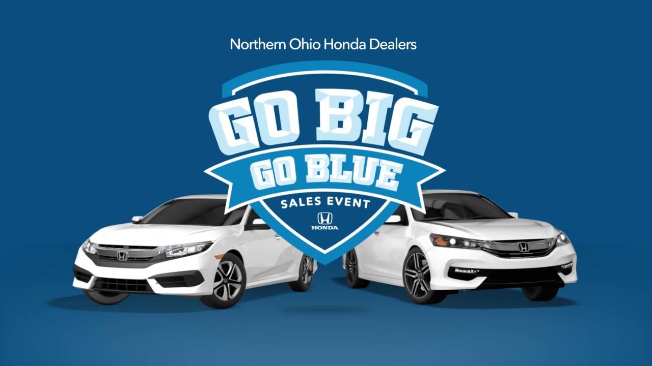Honda Dealers Cleveland >> Cleveland Auto Show Go Big Go Blue 2016 Honda Civic
