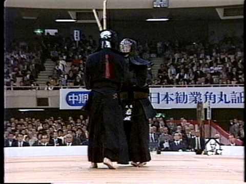 第34回(S61) 全日本剣道選手権大会 決勝 亀井 - 岩堀