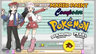 Mario Paint - Pokémon Diamond/Pearl/Platinum - Trainer Battle