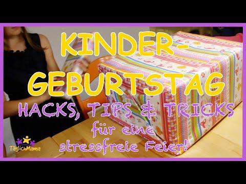 KINDERGEBURTSTAG - 10 geniale HACKS, TIPS & TRICKS für eine stressfreie Feier! / TäglichMama