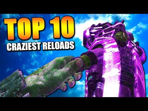 Top 10 CRAZIEST RELOADS in COD HISTORY | Chaos