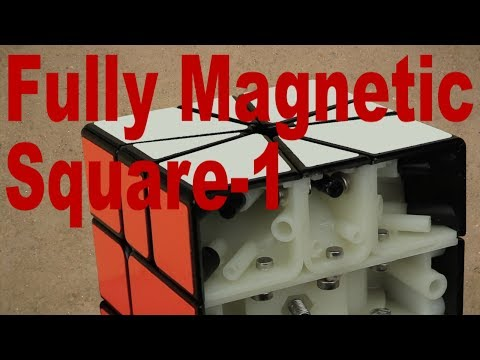 FULLY Magnetic X-Man Square-1 Mod
