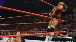 Unforgiven 2004-Randy Orton Vs Triple H Highlights