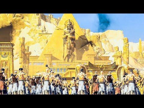 TOMB KINGS vs EMPIRE - Siege of Lybaras - WARHAMMER Cinematic TotalWar |