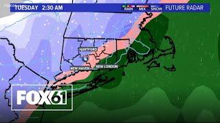 Weather Watch: Winter storm Monday \u0026 Tuesday