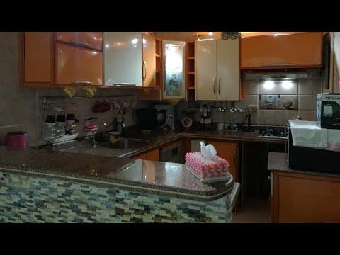 ورجعت لفيديو تحدى الكسل اخيرا نضفت وفرشت المطبخ