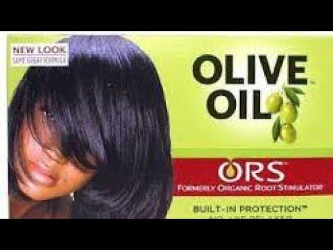 ريفيو عن كريم فرد الشعر Ors Olive Oil Youtube