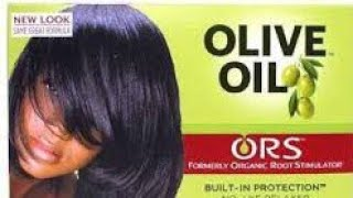ريفيو عن كريم فرد الشعر ORS/ olive oil