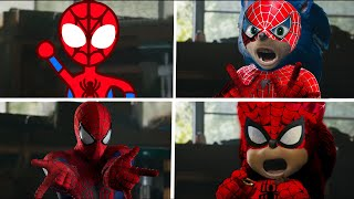 Sonic The Hedgehog Movie - Spider-Man Uh Meow All Designs Compilation