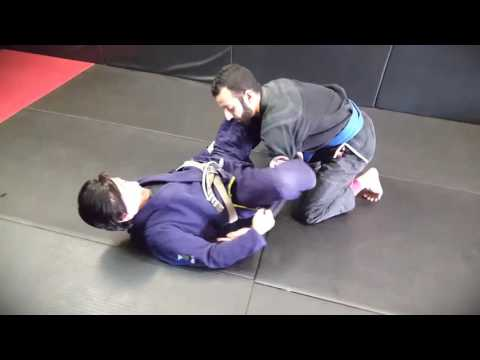 Coach Steve Baca Showing Some Bjj Back Escape Options At Noho Mma