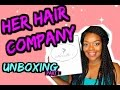Her Hair Company Brazilian Curly Unboxing