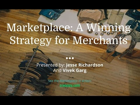 The Marketplace: A Winning Strategy for Your Business [8/17/16]