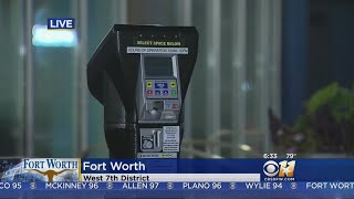 New Dynamic Pricing Parking Meters Around West 7th In Fort Worth