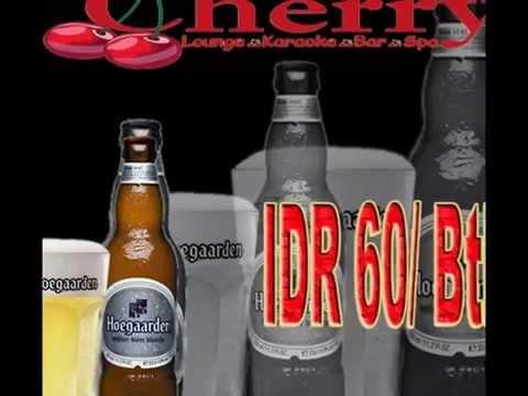 DRINK LIST @ CHERRY LOUNGE KARAOKE BAR & SPA_LOKASARI