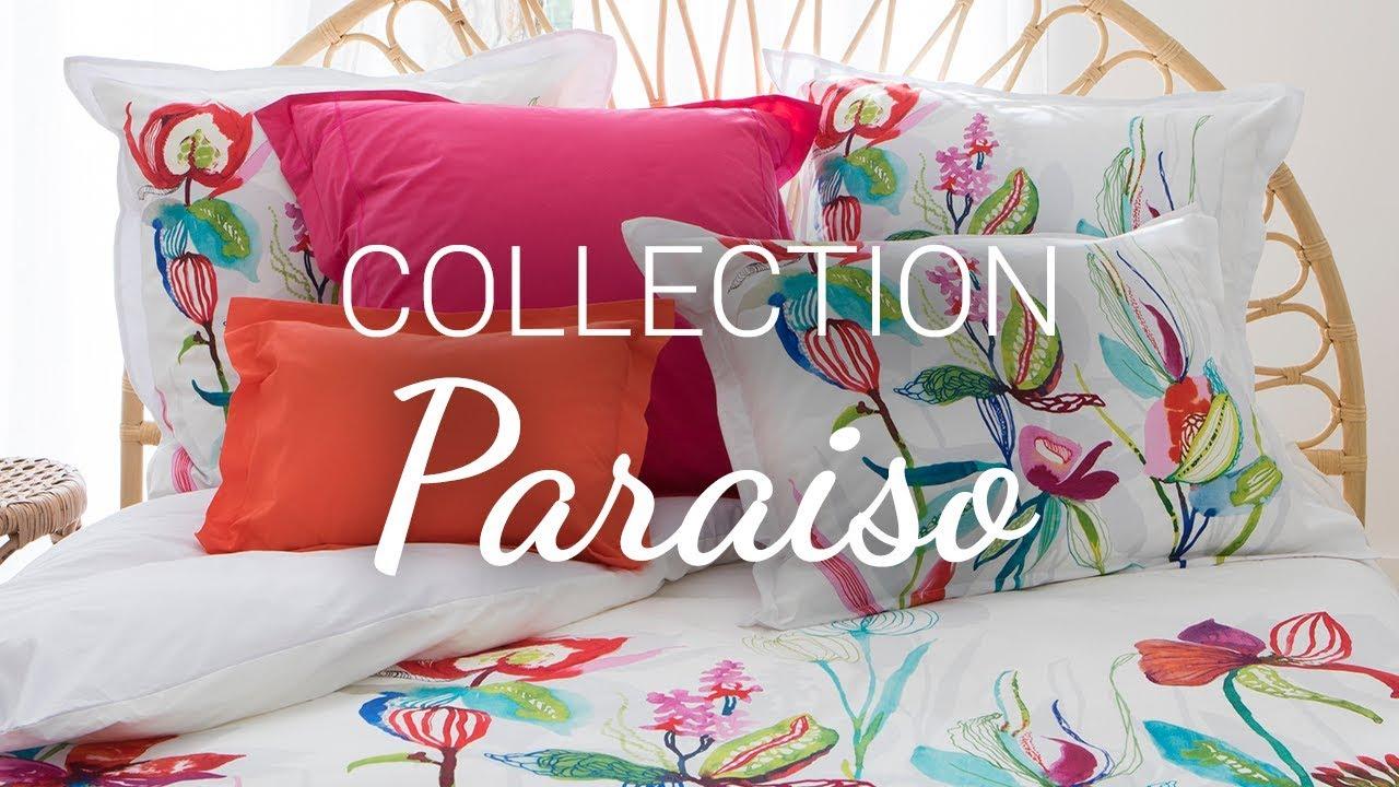 collection paraiso pour carre blanc