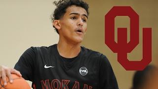 Trae Young Commits to University of Oklahoma | FULL EYBL HIGHLIGHTS