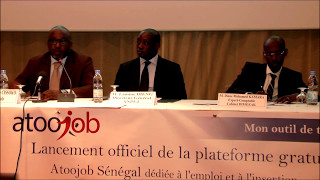 Atoojob Senegal Allocution du CEO Suite