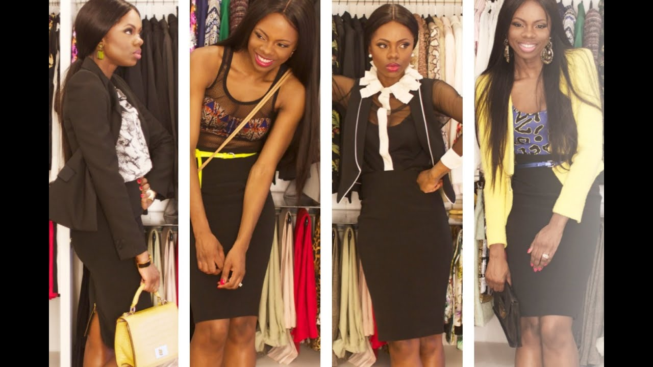Style-ized: The Pencil Skirt (7 Ways For 7 Days :-)
