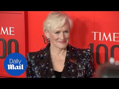 Out of this World! Glenn Close in astral suit at TIME 100 Gala