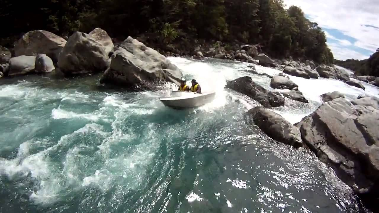Small jetboats in New Zealand