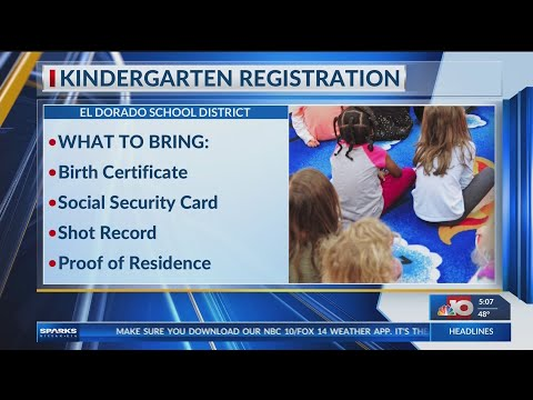 El Dorado Kindergarten Registration