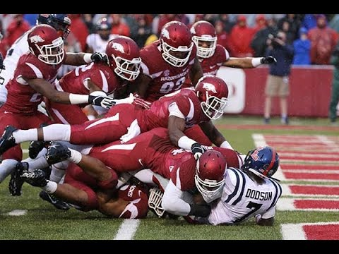 The BEST Moments in Razorback Football History