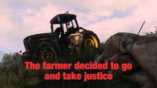 GTA V Don't mess with a farmer's cow